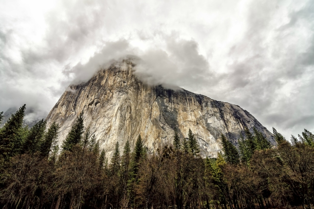 El Capitan. Yosemite Valley, California. Winter 2013.